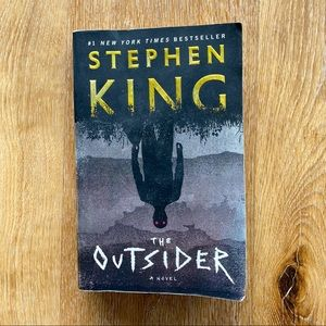 """""""The Outsider"""" Softcover Novel by Stephen King"""